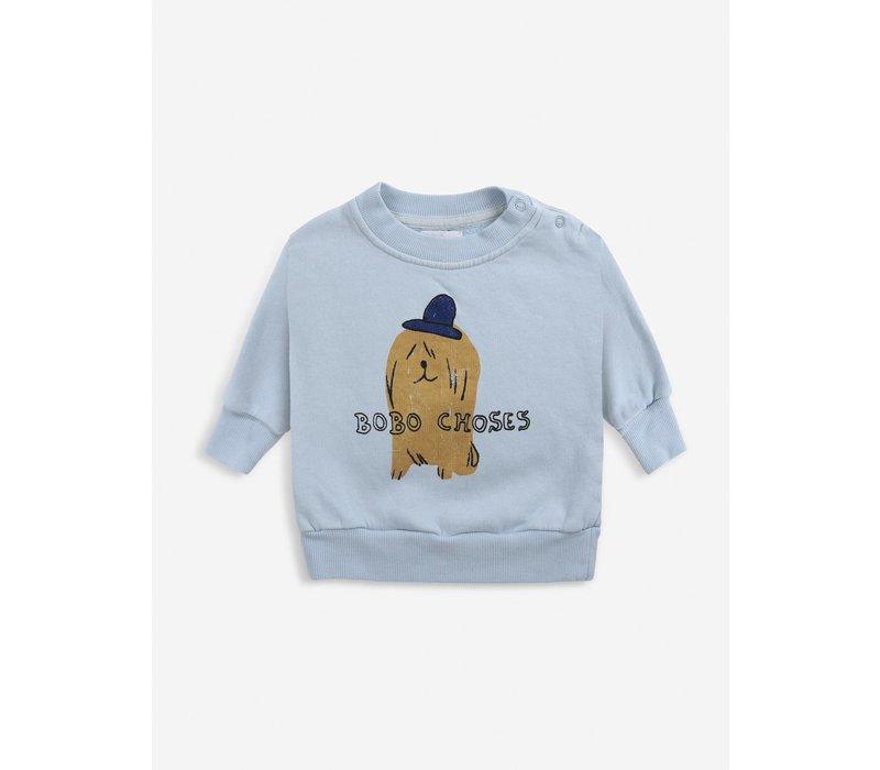 Bobo choses - Dog in the hat sweatshirt - 6/12 maanden