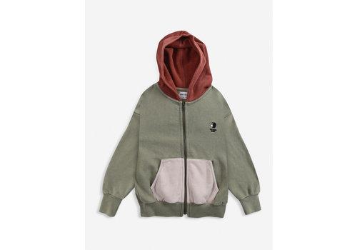Bobo Choses Bobo choses - Doggie zipped hoodie