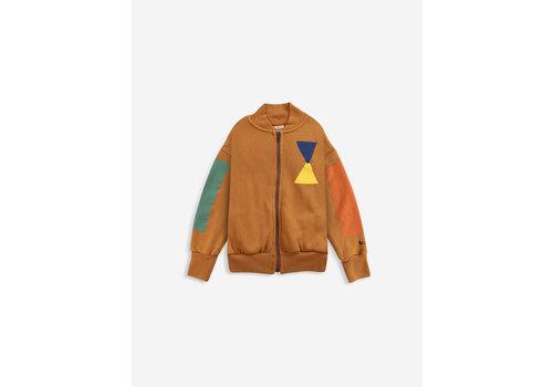 Bobo Choses Bobo choses - Geometric zipped hoodie