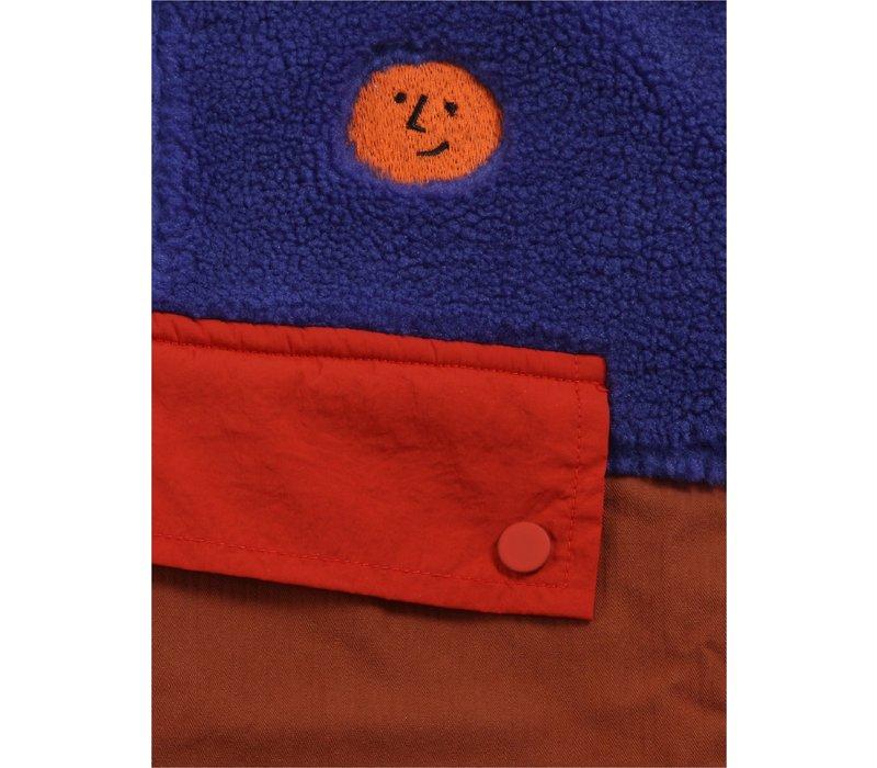 Bobo choses - Multicolor polar fleece jacket