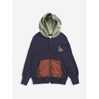 Bobo choses - Scholar worm zipped hoodie