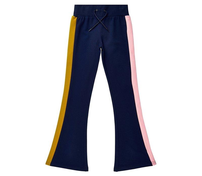 The New - Valis flared pants navy blazer