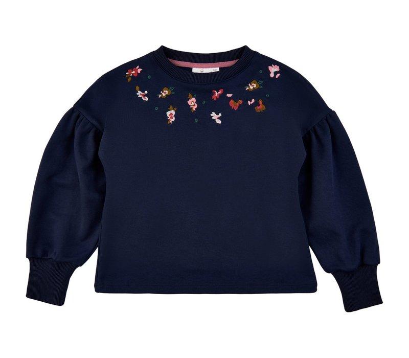 The New - Volume sweatshirt navy blazer