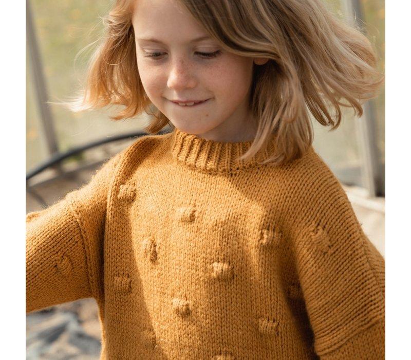 The New - Venya knit harverst gold