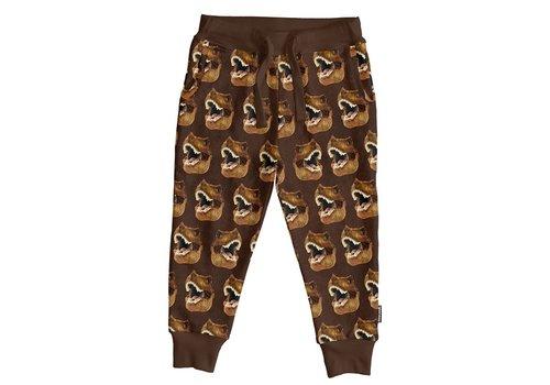 Snurk Snurk - Dino brown pants kids
