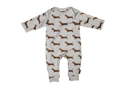 Snurk Snurk - James grey jumpsuit babies