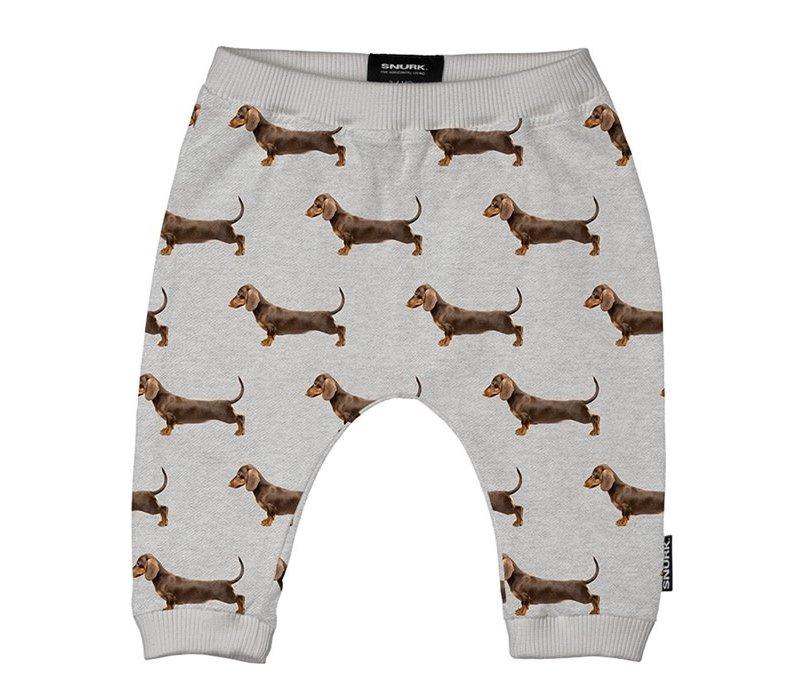 Snurk - James grey pants babies