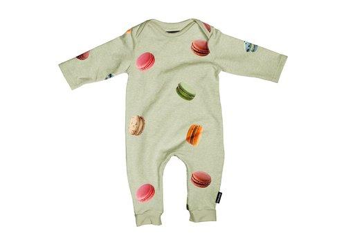 Snurk Snurk - Macarons green jumpsuit babies