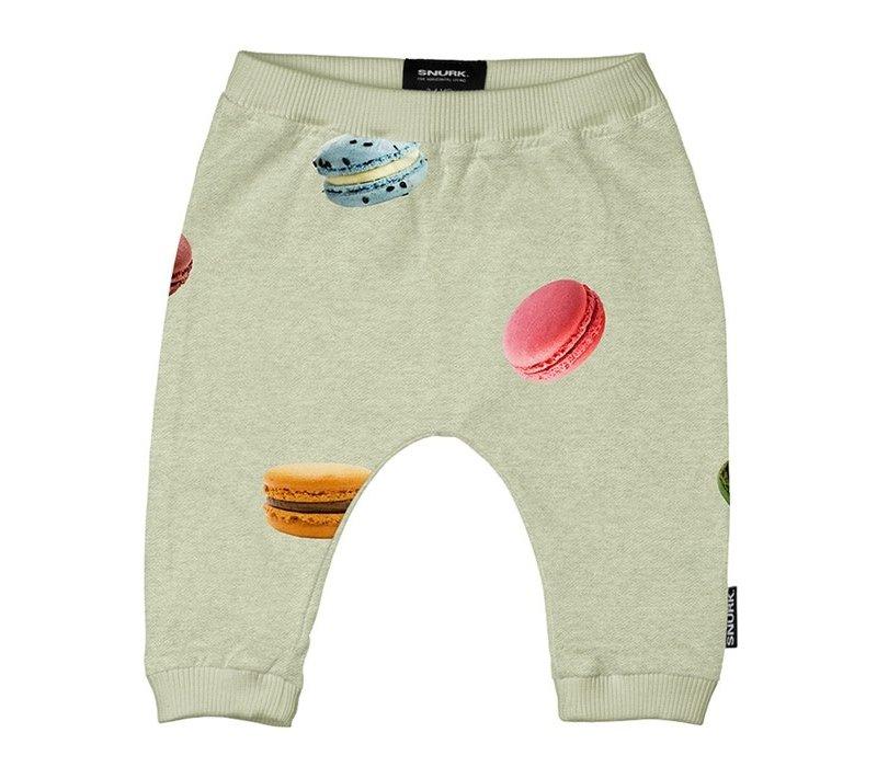 Snurk - Macarons green pants babies