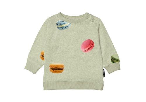Snurk Snurk - Macarons green sweater babies