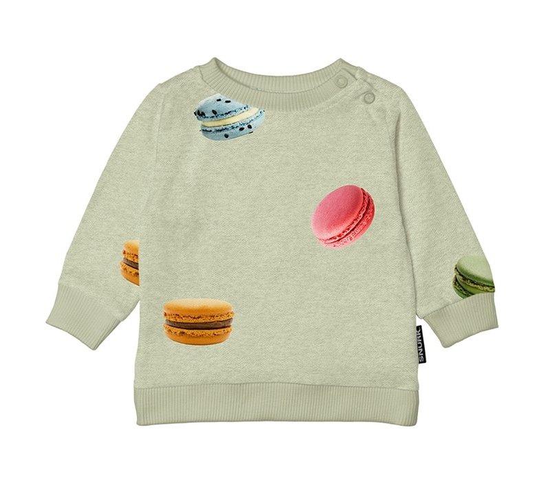 Snurk - Macarons green sweater babies