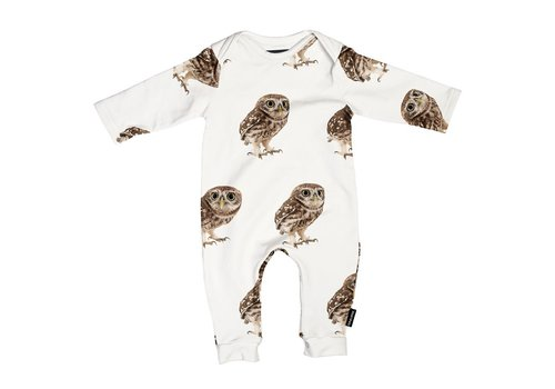 Snurk Snurk - Night owl jumpsuit babies
