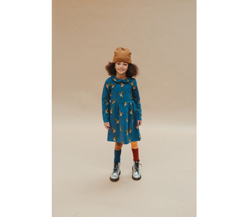CarlijnQ - Hummingbird collar dress