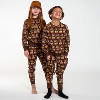Snurk - Dino brown pants kids