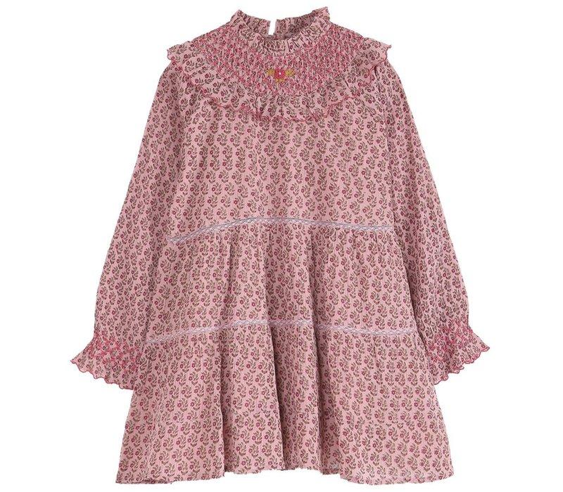 Emile et ida - Dress paquerette rose