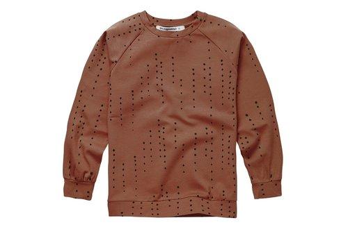 Mingo Mingo - Longsleeve dewdrops burnished leather jersey