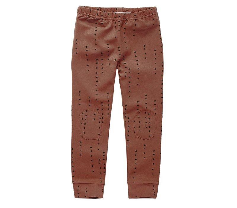 Mingo - Legging Dewdrops Brunished Leather