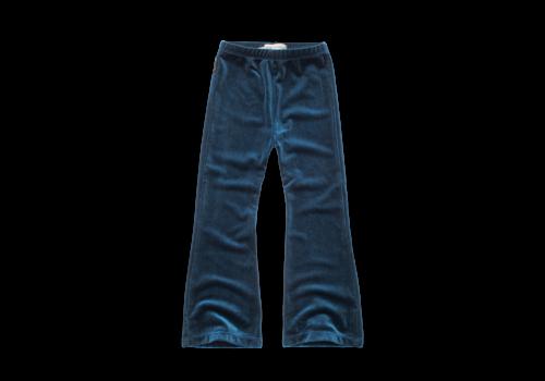Sproet & Sprout Sproet & Sprout - Flared legging velvet blue