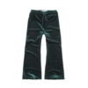 Sproet & Sprout Sproet & Sprout - Pants velvet pleats pine green