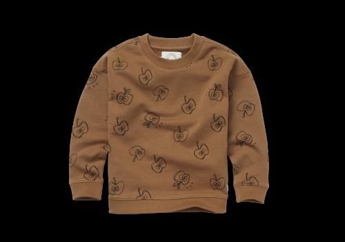 Sproet & Sprout Sproet & Sprout - Sweatshirt apple print