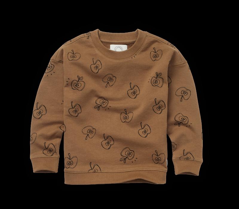 Sproet & Sprout - Sweatshirt apple print