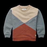 Sproet & Sprout - Sweatshirt colour block auburn