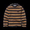 Sproet & Sprout Sproet & Sprout - T-shirt turtleneck stripe mustard black