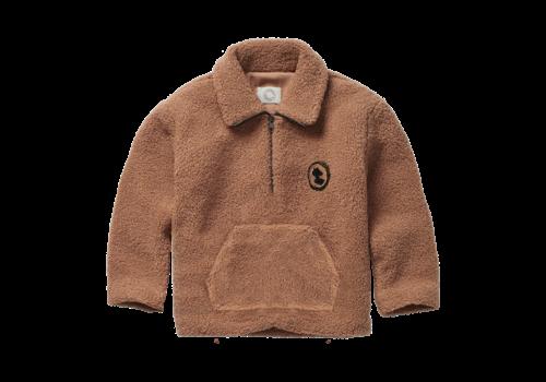 Sproet & Sprout Sproet & Sprout - Teddy sweatshirt zip mock