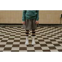 Sproet & Sprout - Skirt block check black