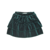 Sproet & Sprout Sproet & Sprout - Skirt velvet pleats pine green