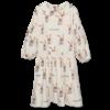 Wander & Wonder Wander&Wonder - Abigail dress ecru bunny