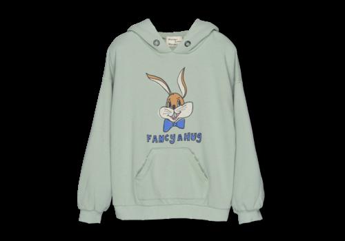 Wander & Wonder Wander&Wonder - Bunny hoodie mint