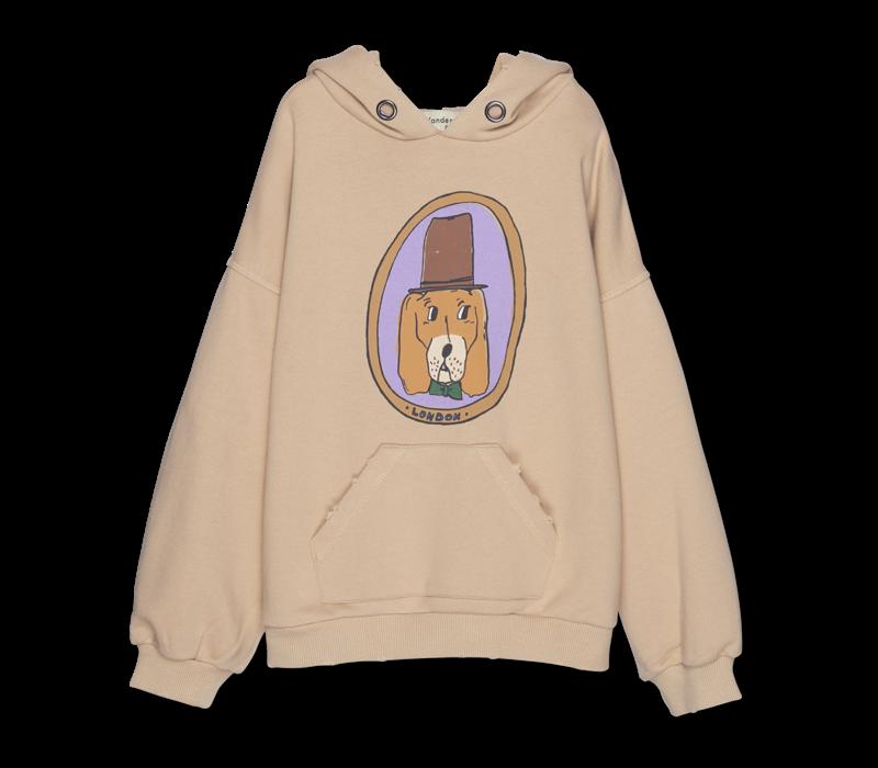 Wander&Wonder - Doggie hoodie almond