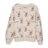 Wander & Wonder Wander&Wonder - Bunny sweatshirt ecru bunny