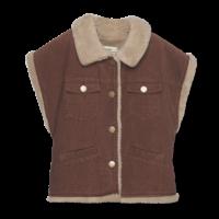 Wander&Wonder - Reversible vest cinnamon cord