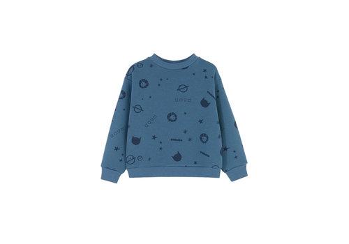 Kids on the moon Kids on the moon - Kids galaxy sweatshirt navy