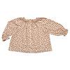 Petit Blush Petit blush - Raglan blouse mini ditsy