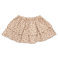 Petit blush - Mini layer skirt mini ditsy print