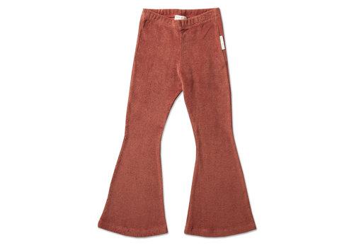 Petit Blush Petit blush - Bowie flared pants marsala