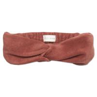 Petit blush - Twisted headband Marsala one size