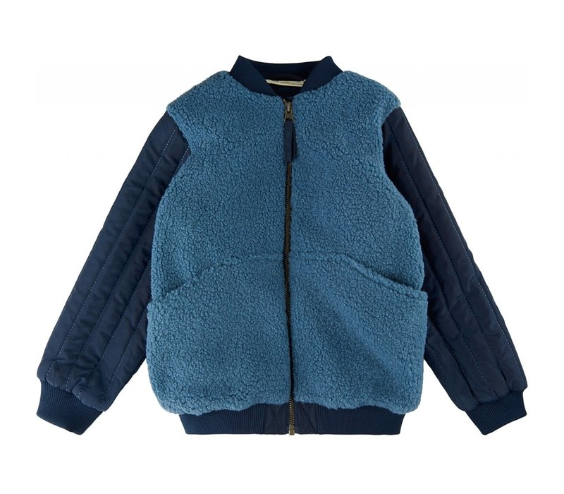 Soft gallery - Ice Gabino jacket ombre blue