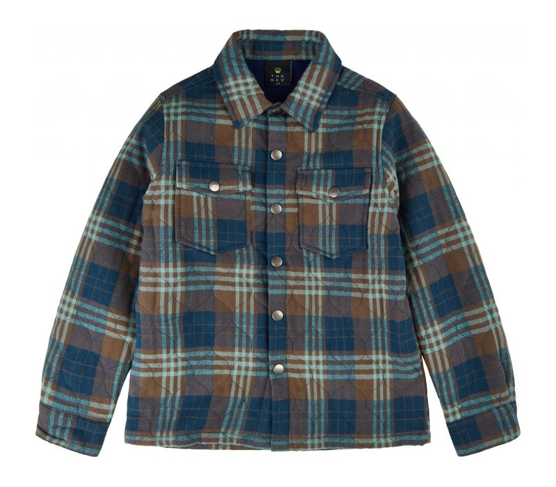 The New - Vigs quilted shirt toffee