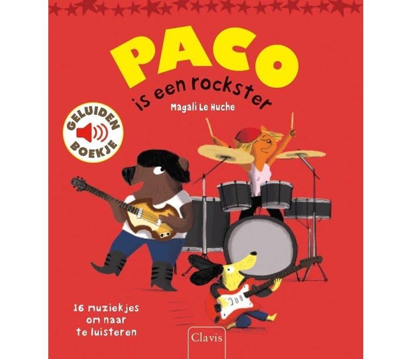 Boek - Paco is een rockster