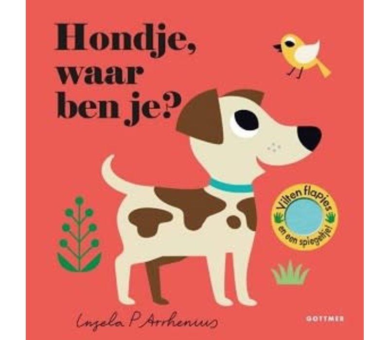 Waar ben je - Prentenboek Hondje