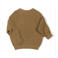 Nixnut - Par knit sweater - Toffee - maat 98/104