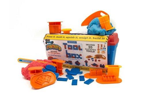 MadMattr MadMattr - Toolbox incl 20 tools + blauw & rood 283gr