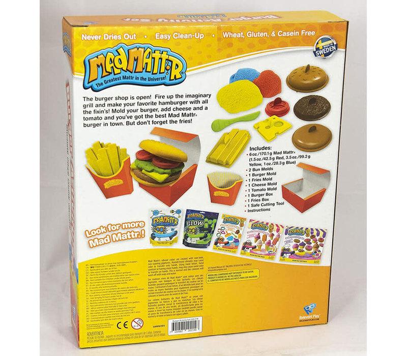 MadMattr - Burger Stand activity set
