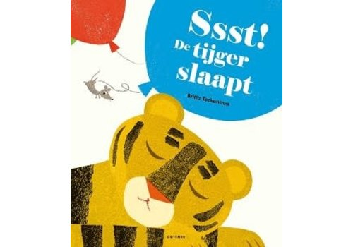 Boeken Ssst! De tijger slaapt - Britta Teckentrup