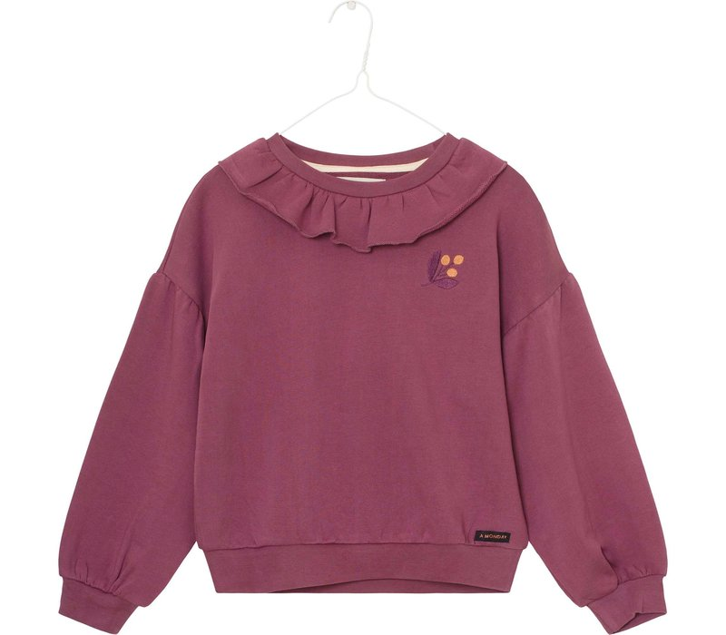 A Monday - Viola sweater rose taupe