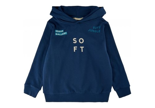 Soft Gallery Soft gallery - Izzomo Bowie hoodie insignia blue